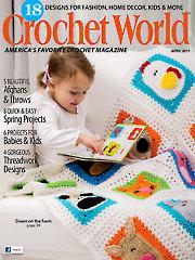 Crochet World April 2017 - Electronic Download AM01235