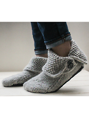 3-in-1 Button Boots Knit Pattern