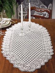 Pineapple & Diamonds Table Runner Knit Pattern