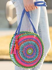 ANNIE'S SIGNATURE DESIGNS: Mandala Bag