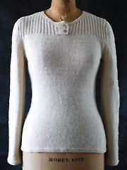 Textured Henley Knit Pattern - Electronic Download A709509