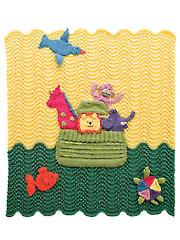 Noah's Ark Afghan Knit Pattern