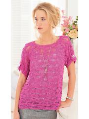 3688: Opium Ladies Tops Knit Pattern