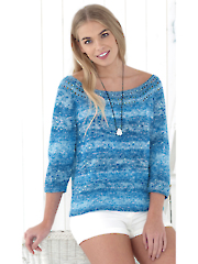 4765: Double Knit Ladies Tops Pattern