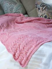 Pink Sky Dreams Baby Blanket Knit Pattern
