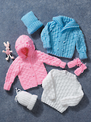 2905: Sweaters, Hats & Mitts Knit Pattern