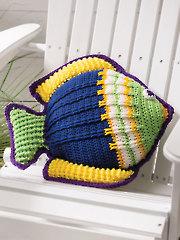 Something Fishy Pillow