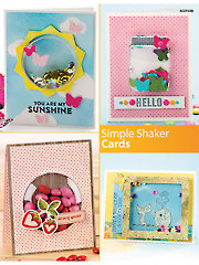 Simple Shaker Cards