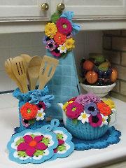 A Kitchen Bouquet