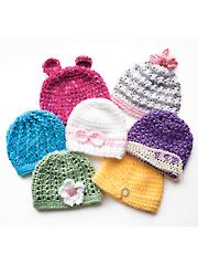 Newborn Girly Hats