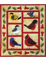Backyard Birds Wall Hanging Kit