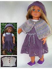 """Belle Plum 18"""" Doll Clothes"""