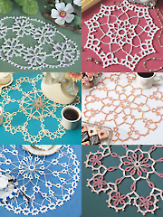 Tatted-Look Doilies - Electronic Download A885277