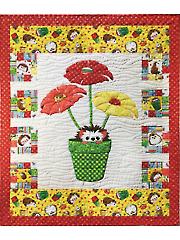 Blooming Hedgehog Quilt Pattern