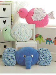 Animal Cushions Knit Pattern
