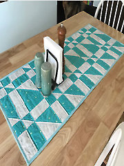 Asymmetric Angles Quilt Pattern