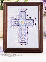 Beaded Cross Cross Stitch Pattern