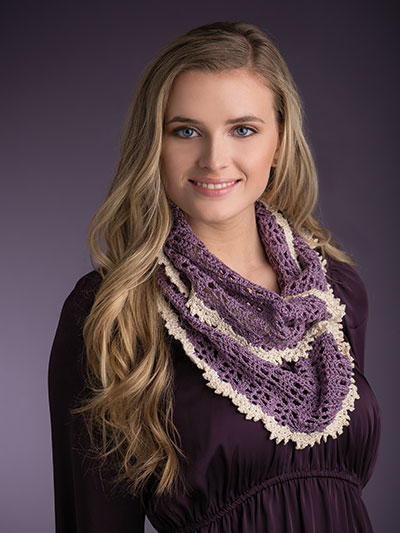 Hallie Infinity Scarf - Electronic Download AC01979