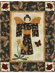 Asian Angel Quilt Pattern