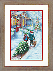 Christmas Tradition Cross Stitch Kit