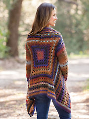 ANNIE'S SIGNATURE DESIGNS: Euphoria Cardi Crochet Pattern - Electronic Download