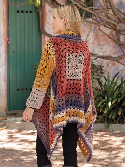 ANNIE'S SIGNATURE DESIGNS: Euphoria Cardi Crochet Pattern
