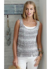 4458: Ladies Top & Tank Knit Pattern