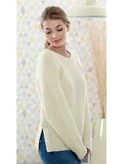 4815: Ladies Sweater & Cardigan Knit Pattern