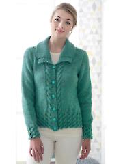 4818: Ladies Jacket & Waistcoat Knit Pattern
