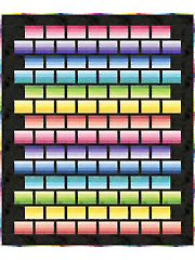 Ombre Ribbons Quilt Pattern Y421624