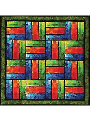 Bargello Rails Quilt Pattern
