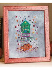 Blackbird's Farm Shop Cross Stitch Pattern