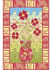 Bargello Flowers Quilt Pattern