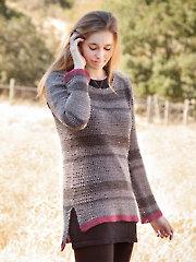 ANNIE'S SIGNATURE DESIGNS: Casmalia Sweater Crochet Pattern