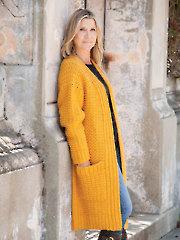 ANNIE'S SIGNATURE DESIGNS: Golden Grove Cardi Crochet Pattern