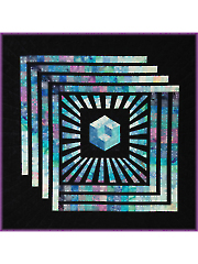 Magic Cube Quilt Pattern - Electronic Download