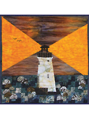 Bargello Lighthouse Quilt Pattern