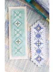 Hardanger Bookmark Duo Cross Stitch Pattern