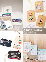 A trio of Festive Cards & Tags