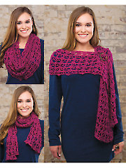 Berrylicious Buttoned Cowl - Electronic Download AC03768
