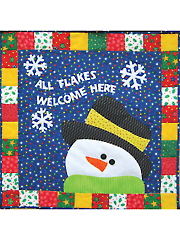 All Flakes Welcome Here Wall Hanging Pattern