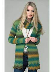4234: Cardigans & Cowl Knit Pattern