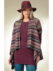 3481: Long & Short Sleeve Cardigans Knit Pattern