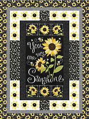 Sunshine Sunflowers Quilt Pattern