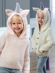 5036: Unicorn Sweater & Cardigan Knit Pattern