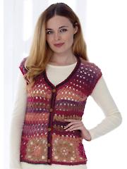 4764: Cardigan & Accessories Crochet Pattern