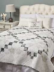 Silver Frost Quilt Pattern YQ01331