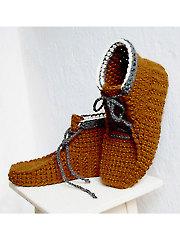 Alpine Boots Crochet Pattern