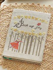 Book of Joy Cross Stitch Pattern