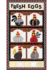 Fresh Eggs Quilt Pattern